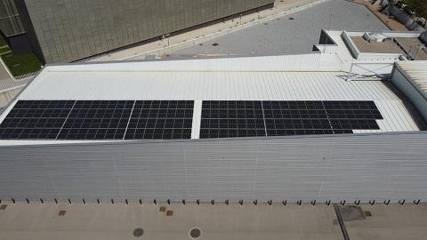 Vista aérea del CPD de T-Systems en Cerdanyola