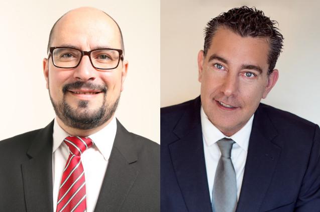 Heraclio Sánchez y Hugo Fernández, de GTI.
