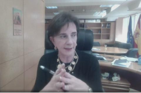 María de los Ángeles Benítez, responsable de la representación española en la Comisión Europea.