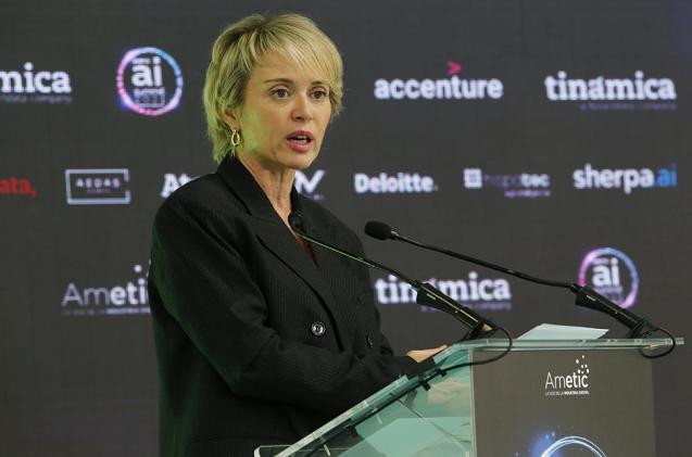 Carme Artigas, secretaria de Estado de Digitalización.
