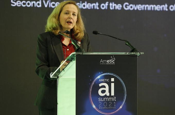 Nadia Calviño, Vicepresidenta Segunda del Gobierno de España y Ministra de Economía y Transformación Digital