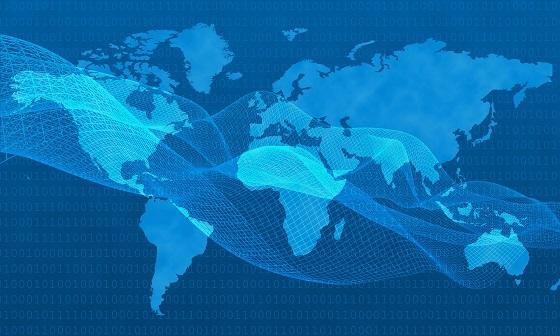 El uso de Internet en el mundo sigue dominando las rutas de cable submarino.