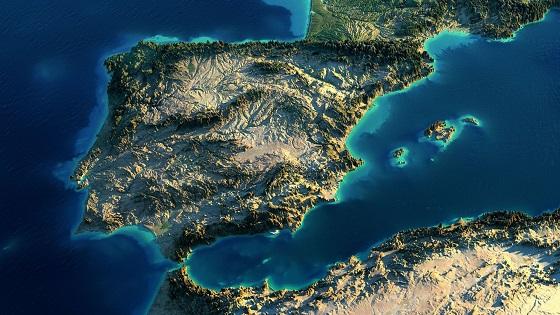 La Península Ibérica, lugar perfecto para el amarre de cables submarinos.