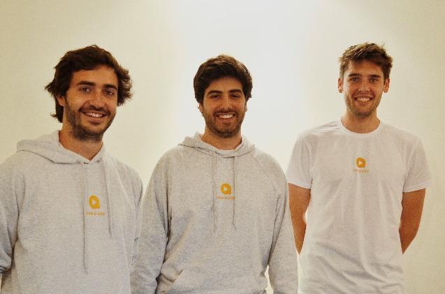 Jordi, Sergio y Xavi, los creadores de PamLearning