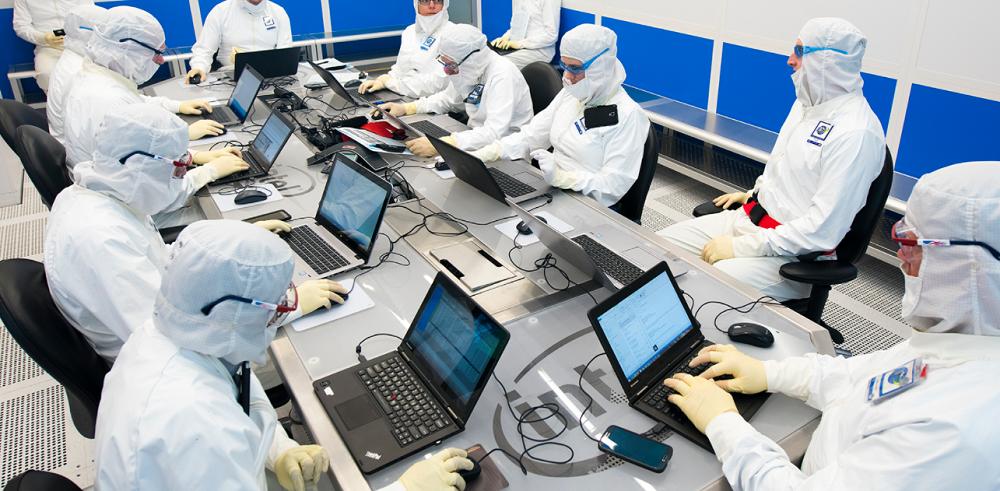 Fábrica de Intel.