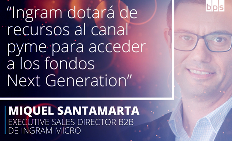 Miquel Santamarta, executive sales director B2B de Ingram Micro