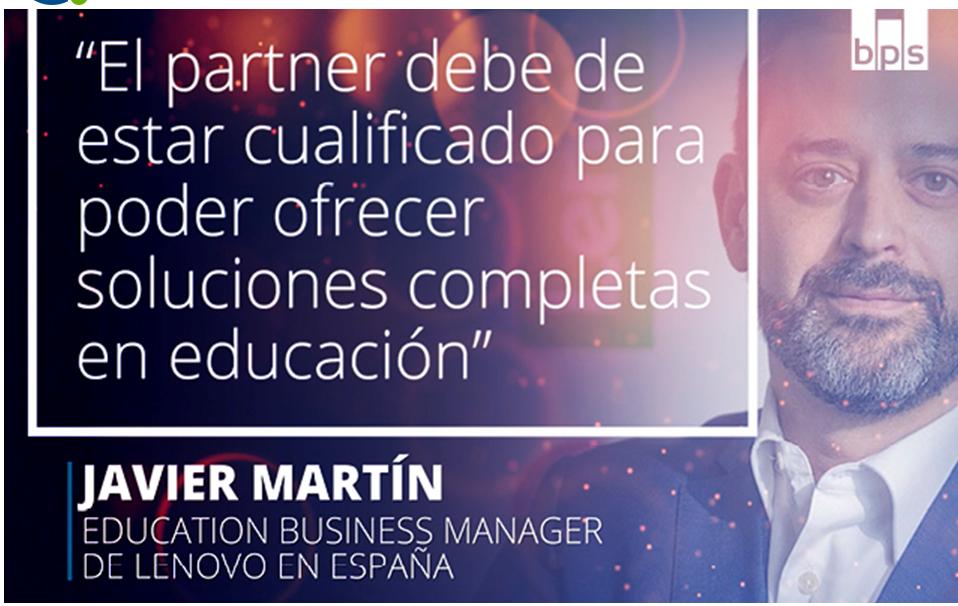 Javier Martín, education business manager de Lenovo en España