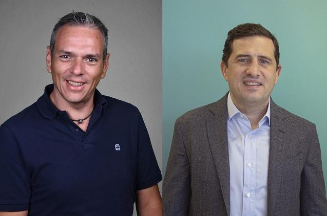Michel Rodríguez, director de Colaboración en Cisco España, y Javier Aguilera, COO de Ikusi.