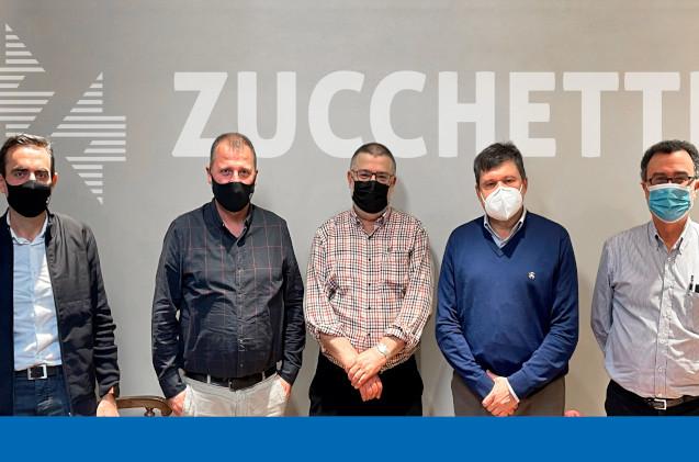 Firma de compra de Seteco y Zucchetti.