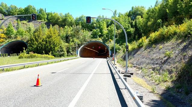 Túnel de Cereixal, el primero de España conectado con 5G.