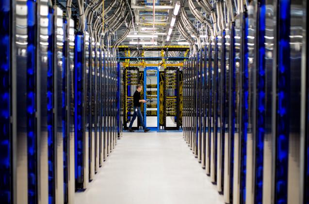 Centro de datos de Microsoft.