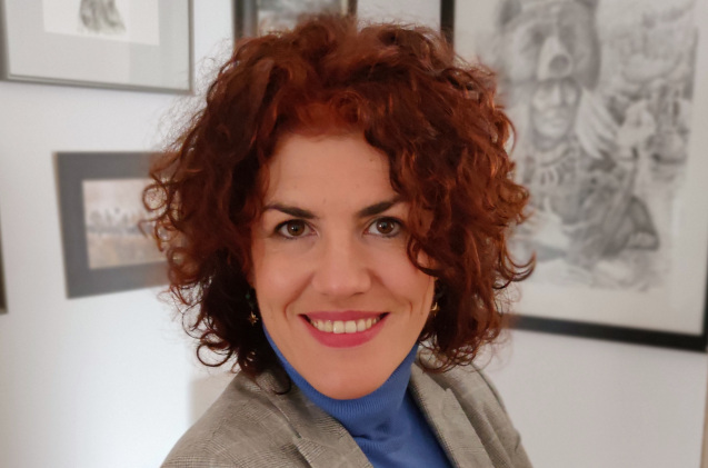 Julia Barruso, de CrowdStrike.