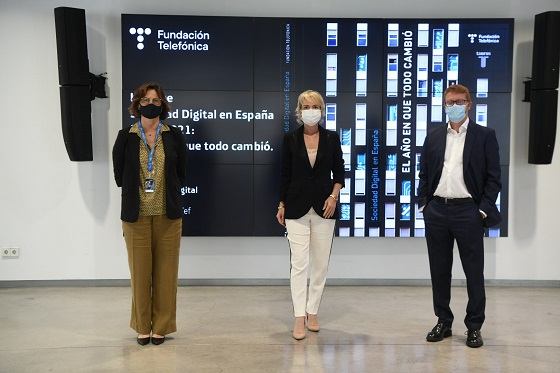 Informe Fundación Telefónica sobre digitalización.