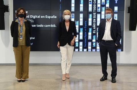 Presentación La Sociedad Digital en España 2020-2021: El año en que todo cambió de Fundación Telefónica.