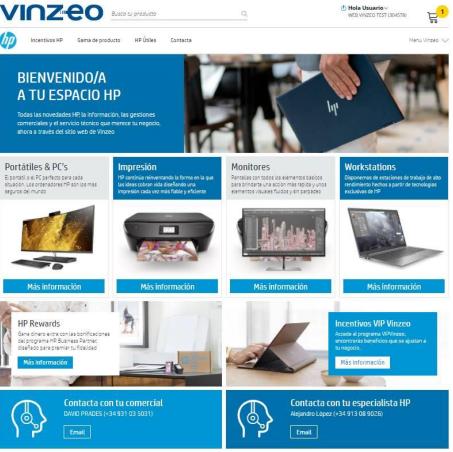 Site HP Vinzeo