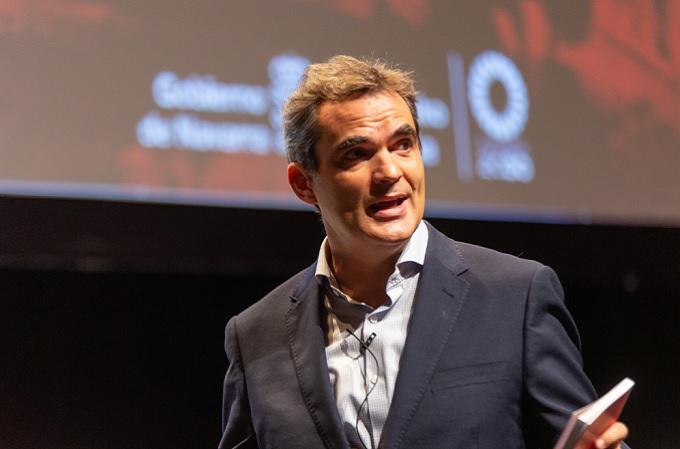Guzmán Garmendia, Director General de Telecomunicaciones y Digitalización del Gobierno de Navarra