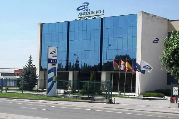 Sede de Grupo Antolín, en Burgos.