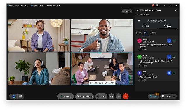 Cisco presenta la nueva Webex Suite.