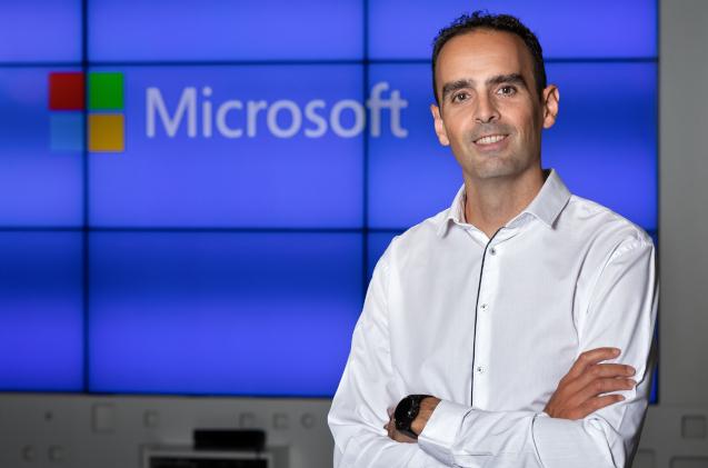 Juanjo García Cabrera, director de Microsoft Azure en España.