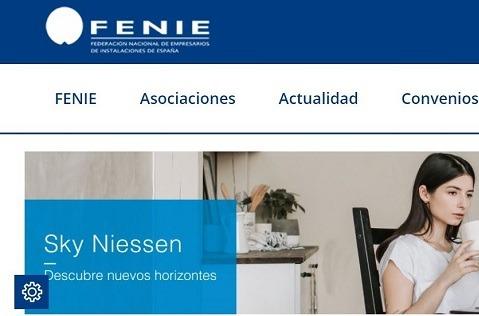 Fenie lanza nueva web y app.