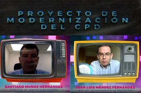 Proyecto modernización CPD