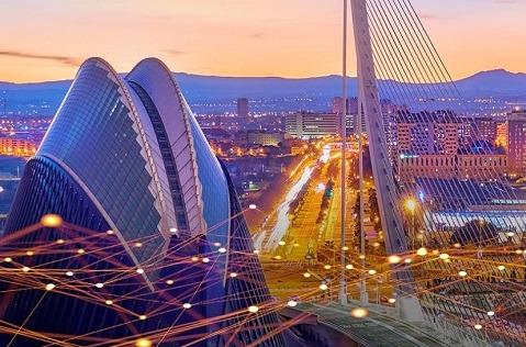Presentación de la UTE para el desarrollo de 5G en Valencia.