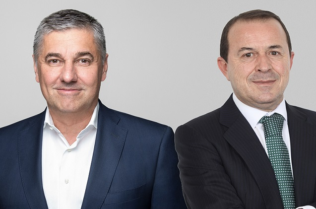 Stefan Auerbach de Utimaco y Jesús Rodríguez de Realsec.