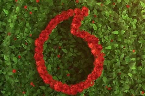 "La red de Vodafone se tiñe de ""verde"" este julio."
