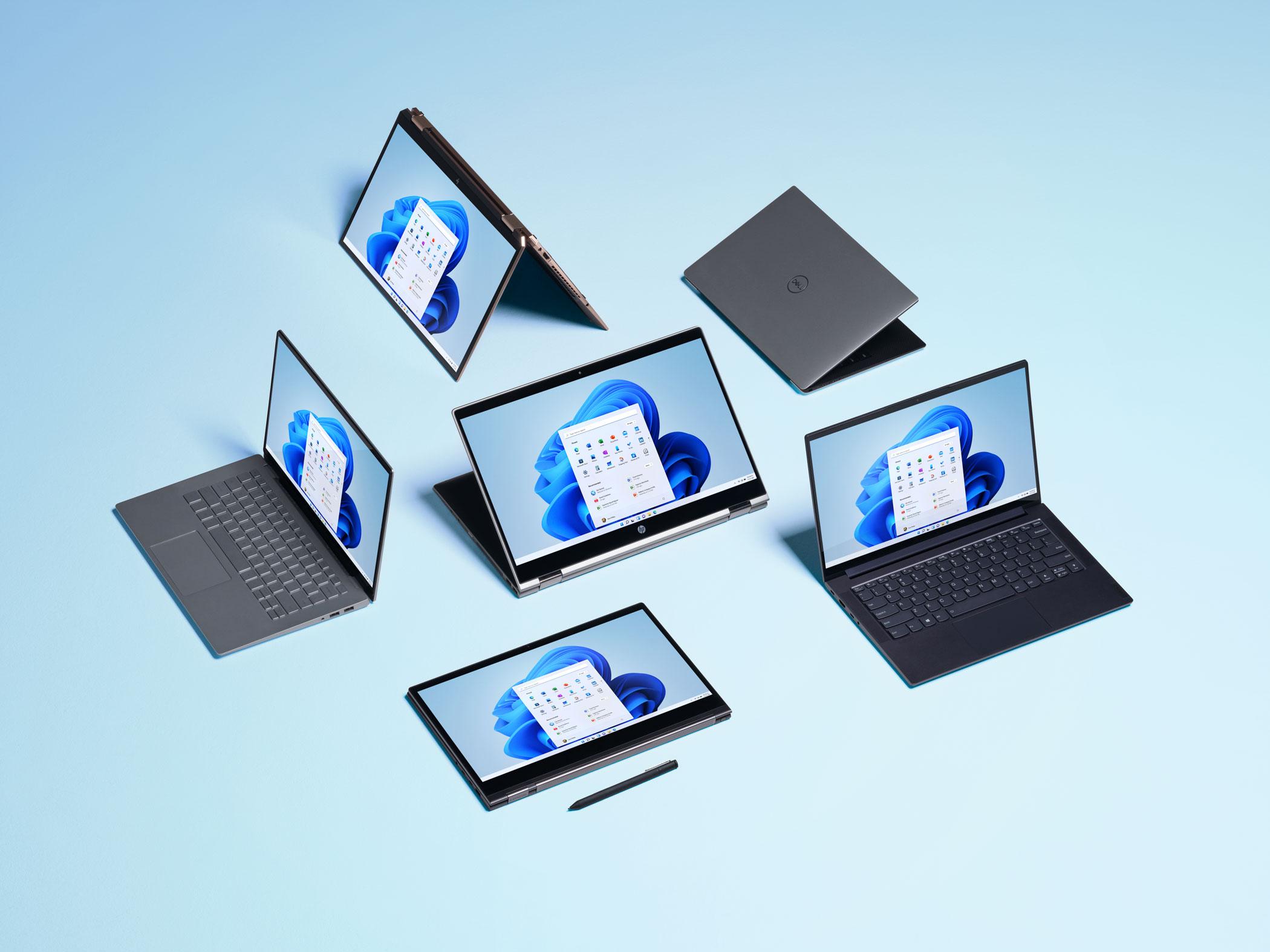 Windows 11 dispositivos