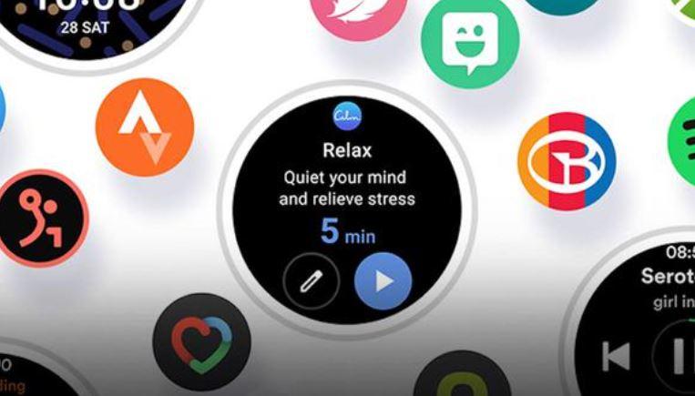 Nueva plataforma smartwatch de Samsung.