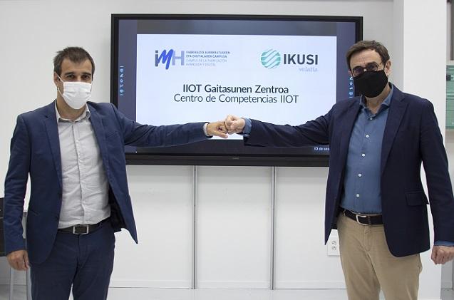 IMH e Ikusi crean un Centro de Competencias IIOT.