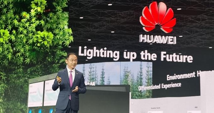Ryan Ding, Director Ejecutivo y Presidente de Carrier Business Group de Huawei.