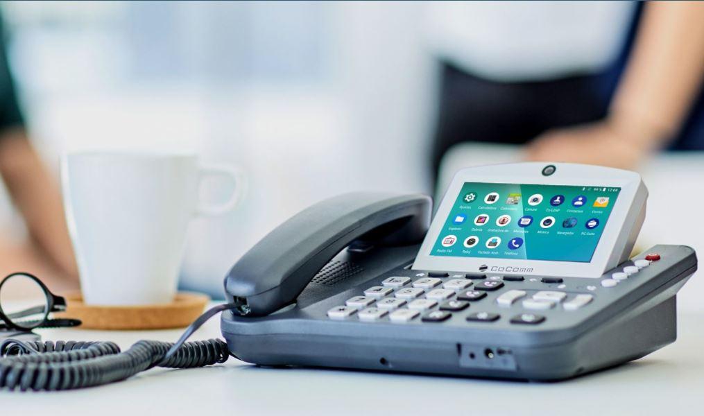 Teléfono de oficina CoComm.