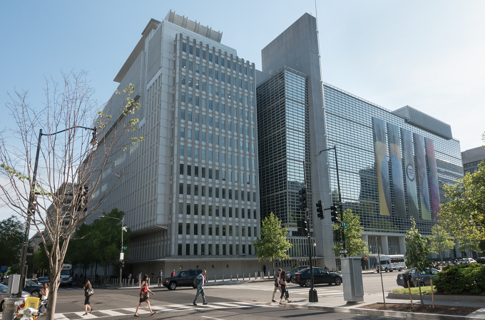 Sede del Banco Mundial en Washington D.C.