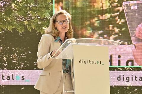 Nadia Calviño inaugura DigitalES Summit 2021.
