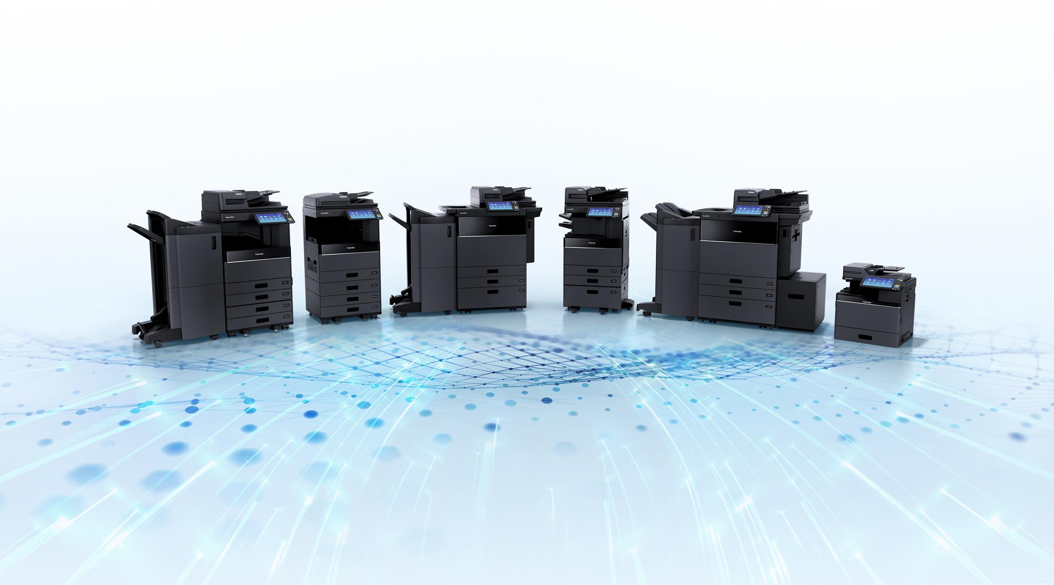 Gama impresoras de Toshiba para educación.