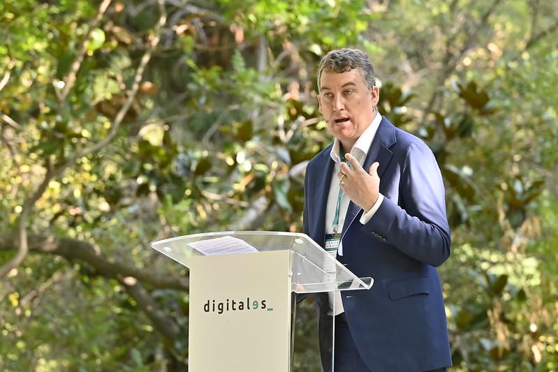 Colman Deegan, CEO de Vodafone España en DigitalES Summit 2021.
