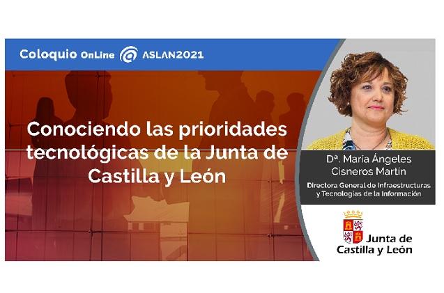 María Ángeles Cisneros Martín, directora general de Infraestructuras y Tecnologías de la Información de la Consejería de Sanidad de Castilla y León