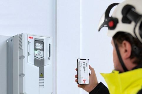 ABB Ability Mobile Connect para variadores de frecuencia.