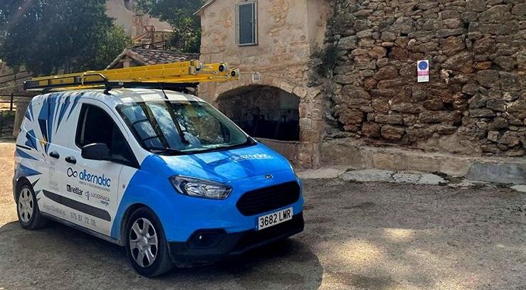 El municipio turolense de Cuevas de Cañart ya disfruta de Internet gracias a Alternatic.