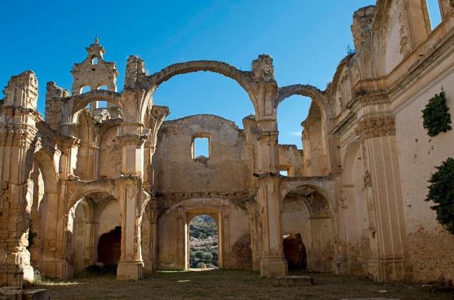 Convento de los Monjes Servitas en Cuevas de Cañart.