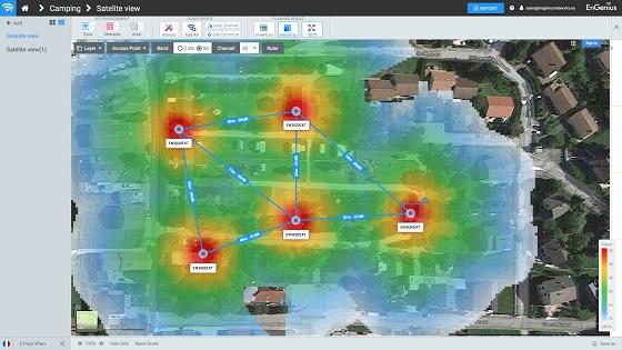 EnGenius actualiza su software gratuito ezWIFI Planner.