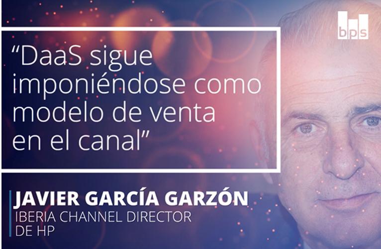 Javier García Garzón, director de canal de HP