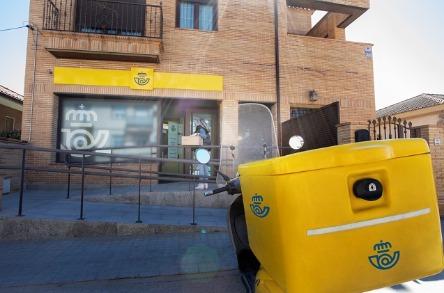 Correos conecta sus oficinas remotas por satélite.