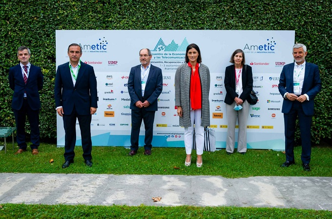 35º encuentro de la Economía Digital y de las Telecomunicaciones de AMETIC. Fuente: AMETIC.
