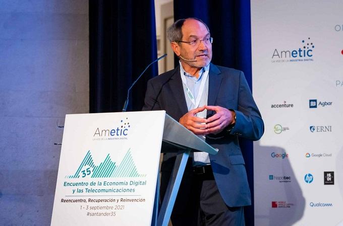 Pedro Mier, presidente de AMETIC. Fuente: AMETIC.