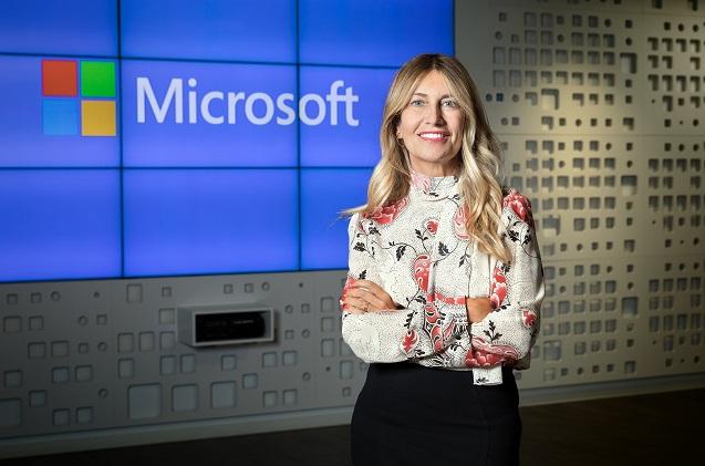 Maryam Luzárraga, nueva directora de sector público de Microsoft España.