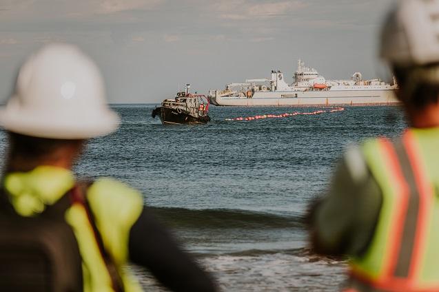 Grace Hooper, el cable submarino de Google llega a España.