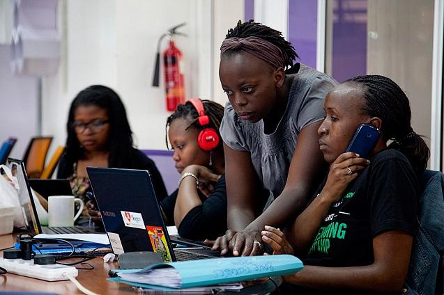 Se tambalea Internet en África.