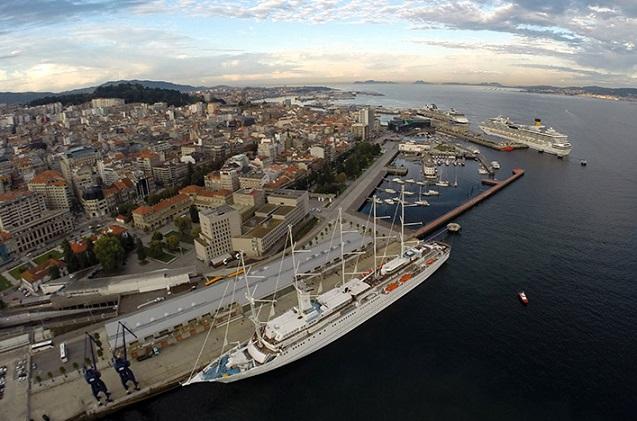 5G aplicado a vigilancia y seguridad en el Puerto de Vigo.
